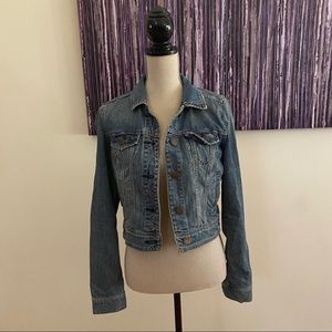 American Eagle Fitted Denim Jacket